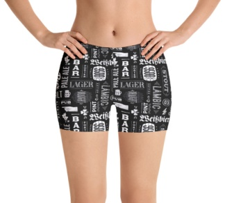 Craft beer lager ipa stout yoga leggings beers exercise pants