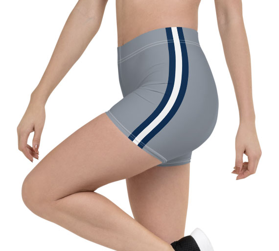 Blue Gray Dallas Cowboys shorts Football NFL exercise pants