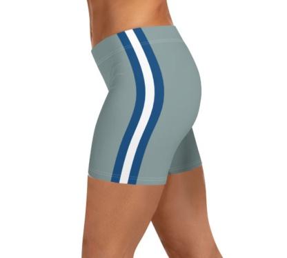 Blue Gray Silver Dallas Cowboys shorts Football NFL exercise pants