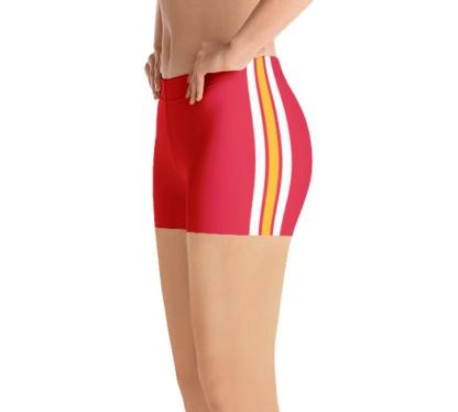 Kansas City Chiefs yoga exercise shorts uniform NFL Football exercise pants