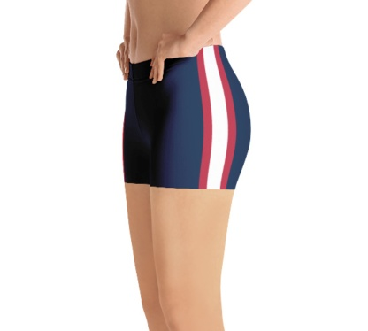 New England Patriots yoga exercise shorts uniform NFL Football exercise pants