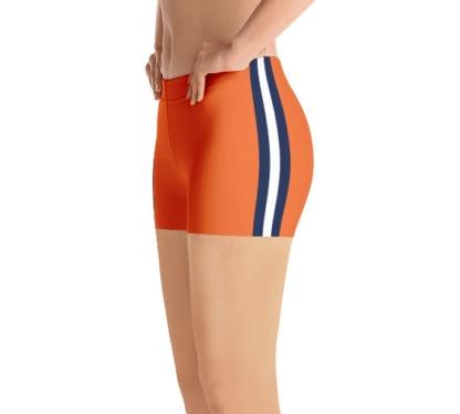 Blue Orange Chicago Bears shorts Football NFL