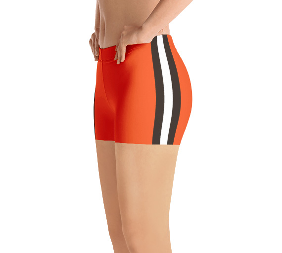 Cleveland Browns running shorts uniform NFL Football exercise short
