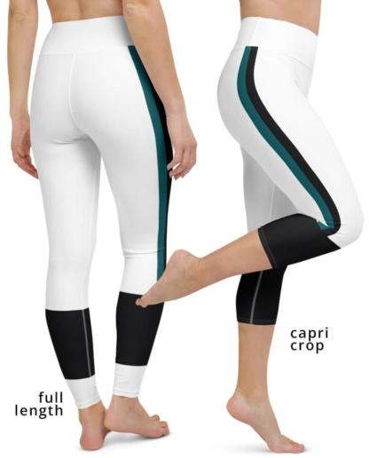 Philadelphia Eagles yoga leggings uniform NFL Football exercise pants