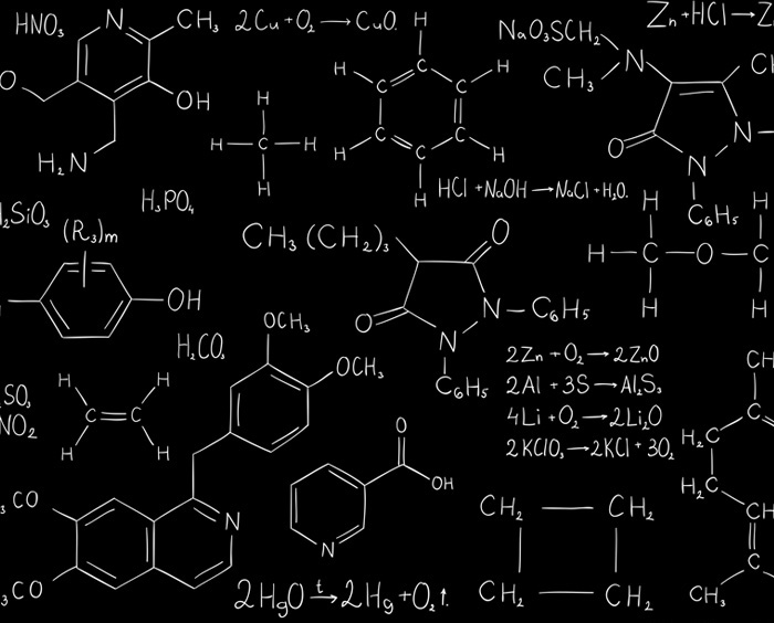 Chemistry formula yoga leggings - Gifts for science geeks