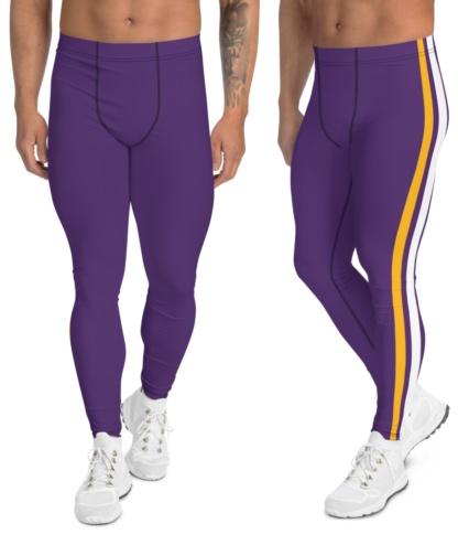 Minneapolis, Minnesota Vikings leggings for men uniform NFL Football exercise pants running tights