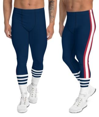 New England Patriots leggings for men uniform NFL Football exercise pants running tights