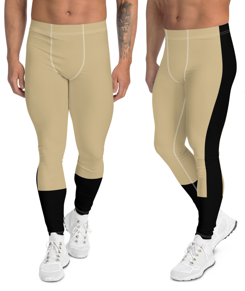 New Orleans Saints leggings for men uniform NFL Football exercise pants running tights