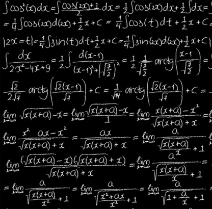 Trigonometry Formulas & Integrals Math Long Sleeve Rash Guard
