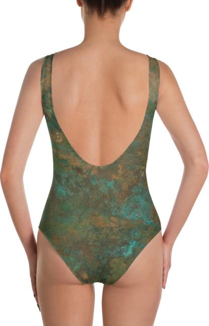 Copper rush One Piece Bathing Suit swim wear