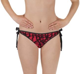 Gothic Thorn & Vine Reversible Bikini