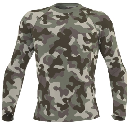 green camouaflage rash guard mens boys swim wear