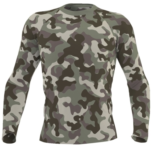 green camouaflage rash guard mens boys swim wear