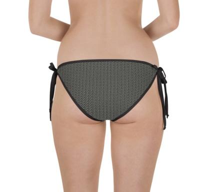 Metal metallic chain mail chainmail two piece swimsuit bathing suit bikini top bottoms bottom