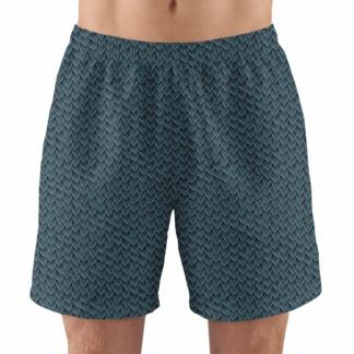 green dragon scales men's athletic swim running jogging exercise shorts