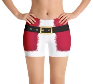 Santa Claus Christmas Speedo shorts