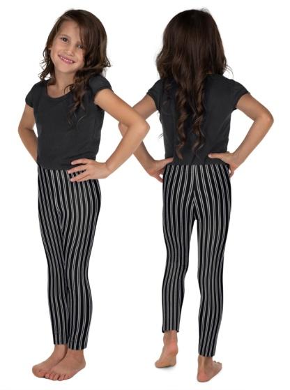 Classic Pin Stripe Leggings for kids pinstripes