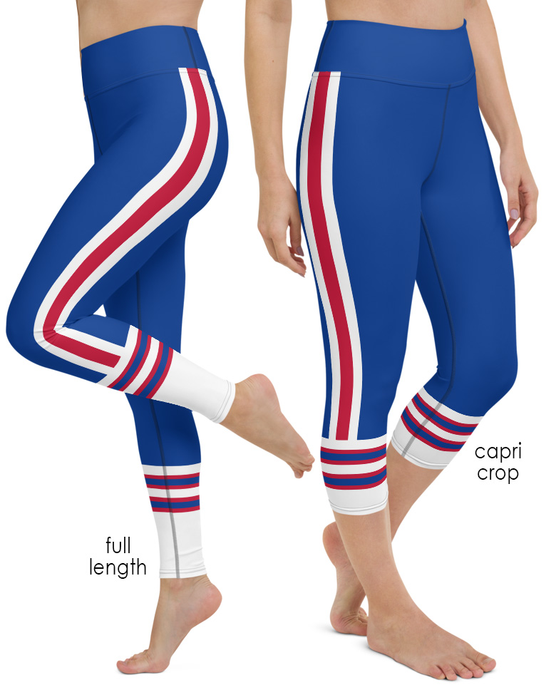 buffalo bills new york football game day uniform yoga leggings pants