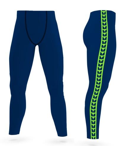 Washington Seattle Seahawks Game Day Men's Uniform Leggings exercise tights gold