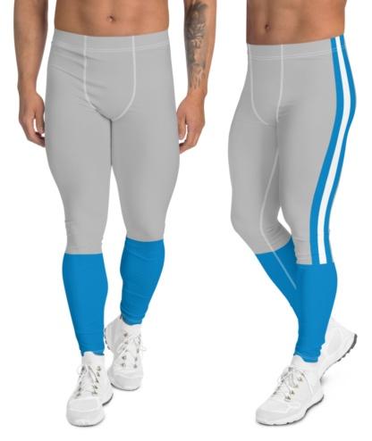 Charlotte North Carolina Panthers Sports Leggings yoga exercise pants men's