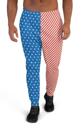 American Flag Joggers for Men