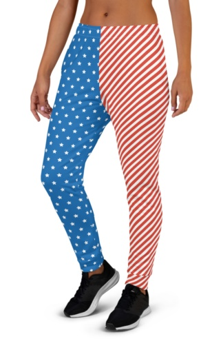 American Flag Joggers for Women