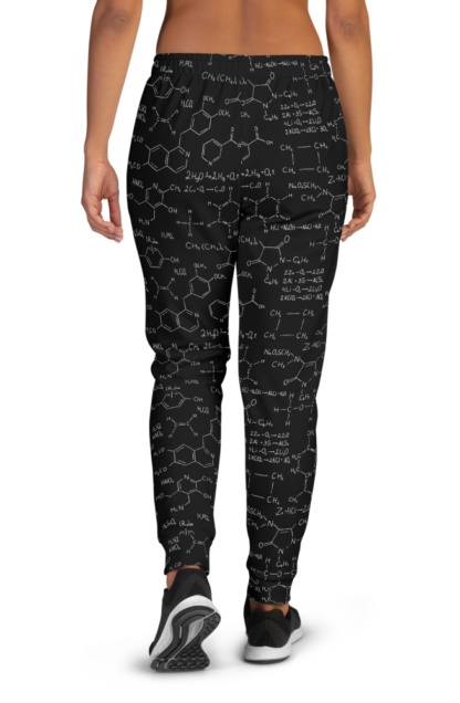 Chemistry Formula & Equation Joggers for Women