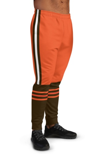 Cleveland Browns Game Day Uniform Football Joggers for Men