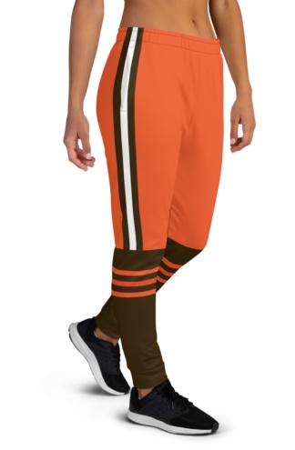 Cleveland Browns Game Day Uniform Football Joggers for Women