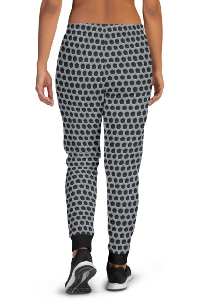 Metal Grill Joggers for Women