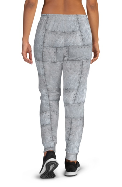 Metal Plates with Rivets Joggers for women
