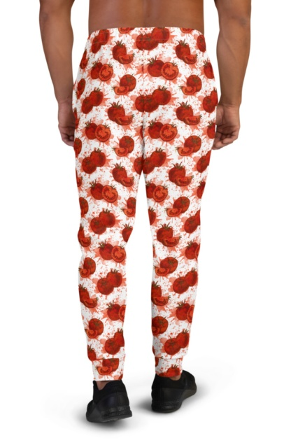 Squashed Tomato Joggers for Men