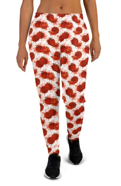 Squashed Tomato Joggers for Women
