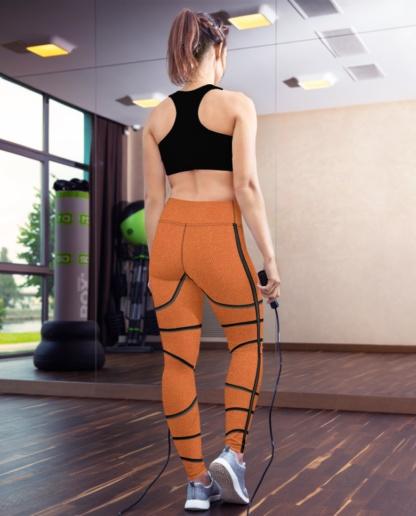 Basketball Yoga Leggings