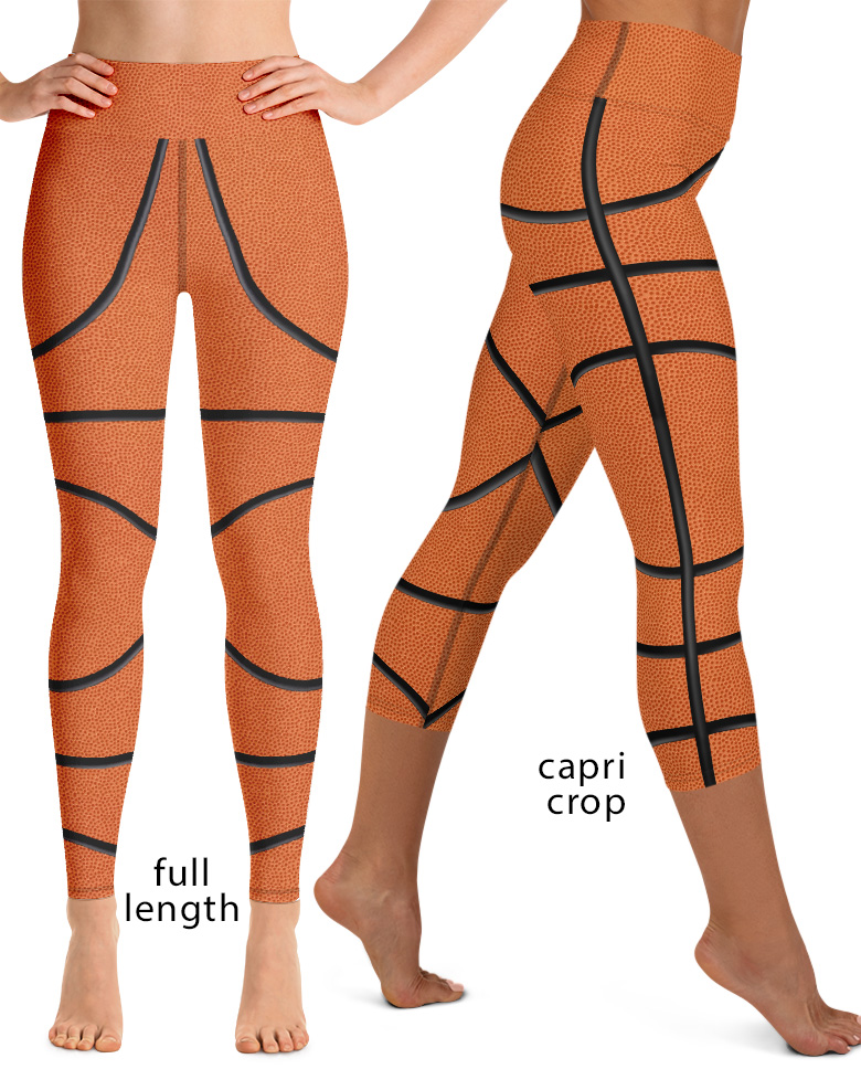 Basketball Yoga Leggings