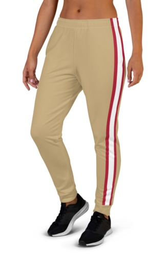 San Francisco 49ers Game Day Uniform Football Joggers for Women