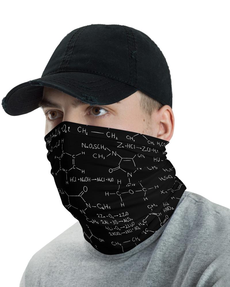 Chemistry Formula & Equation Face Mask Neck Gaiter