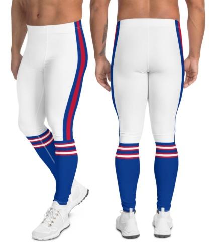 Buffalo Bills Sports Football Uniform Leggings For Men New York NFL