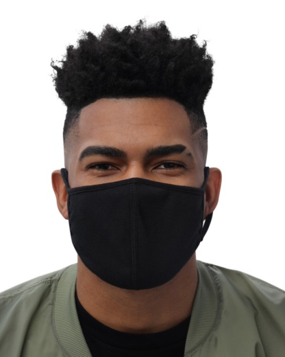 Face Mask Protective Cover (3-Pack) black face cover