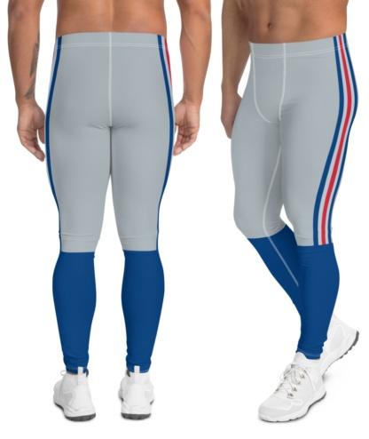 New York Giants Football Uniform Leggings For Men NFL Football stripe pants
