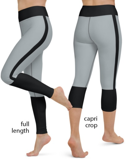 Oakland / Las Vegas Raiders Football Uniform Yoga Sports Leggings