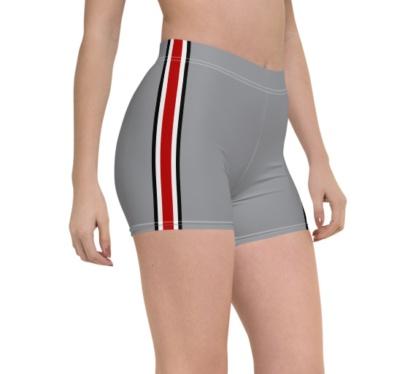 Ohio State Buckeyes Football Uniform Compression Shorts college university