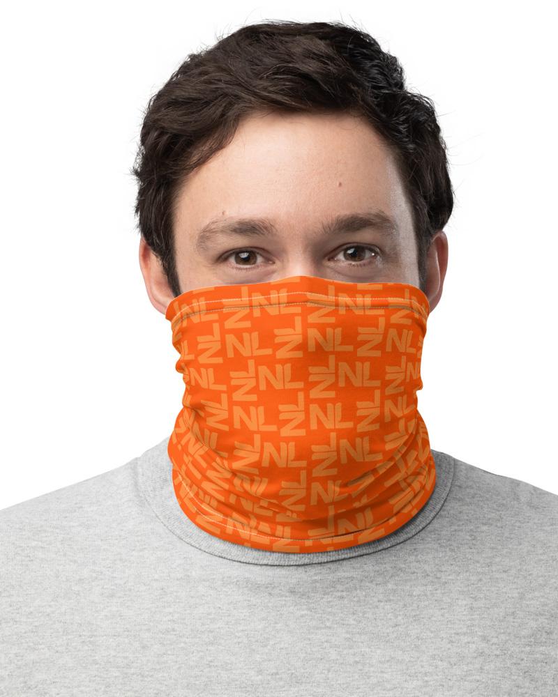 Holland / Netherlands Dutch Orange Face Cover Neck Warmer
