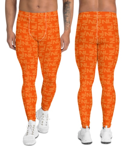 Dutch Holland / Netherlands Orange leggings for men football pants