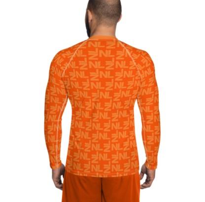 Dutch Holland / Netherlands Orange Leggings Kings Day World Cup Football top rash guard exercise