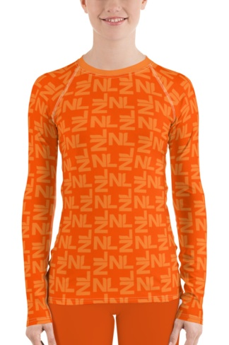 Dutch Holland / Netherlands Orange Leggings Kings Day World Cup Football top rash guard exercise