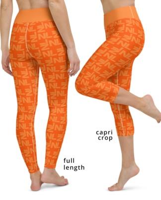 Dutch Holland / Netherlands Orange leggings for ladies yoga football pants