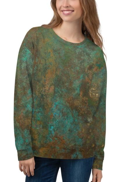Rusty Metal Antique Copper Sweatshirt
