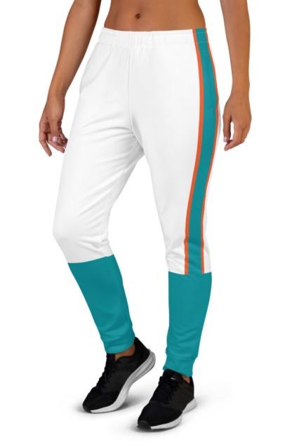 Miami Dolphins Football Uniform Joggers for women's Florida NFL sweats sweatpants