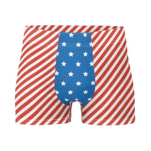 American Flag Boxer Briefs Men's Underwear